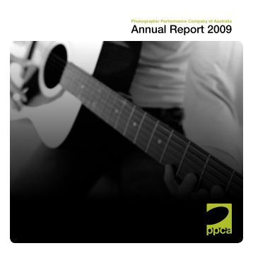 Annual Report 2009 - PPCA