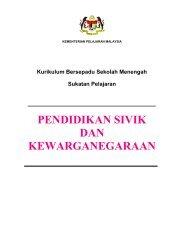pendidikan sivik dan kewarganegaraan - Kementerian Pelajaran ...
