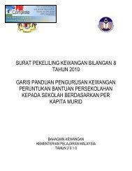 surat pekeliling kewangan bilangan 8 tahun 2010 garis ... - PPD Jasin