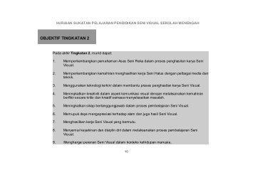 OBJEKTIF TINGKATAN 2 - Sukatan Pelajaran dan Rancangan ...