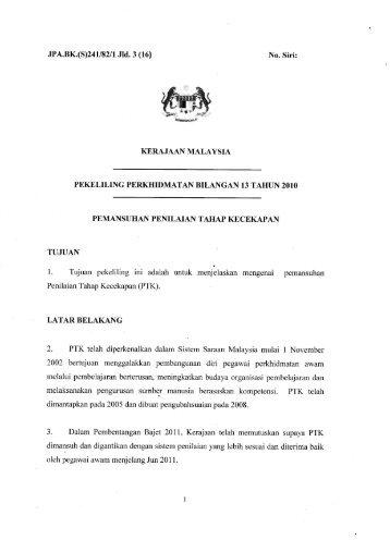 Pekeliling Pemansuhan PTK.pdf - PPD Jasin