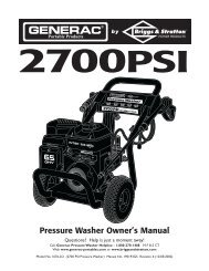 Pressure Washer Owner's Manual - Ppe-pressure-washer-parts.com