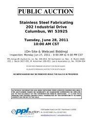 Stainless Steel Lot Catalog - PPL Group