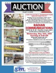 radian communications / 3595 w. st. rt. 28 – frankfort - PPL Group