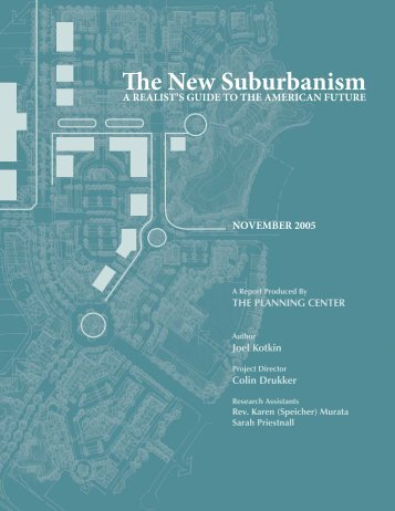 The New Suburbanism - American Chamber of Commerce Executives