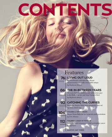 Table of Contents - Professional Photographer Magazine