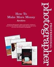 Make More Money - Professional Photographer Magazine