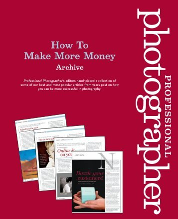 Make More Money - Professional Photographer Magazine