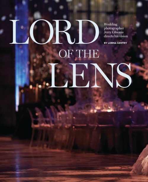 Wedding Photographer Jerry Ghionis Directs His Vision