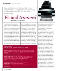 Fit and trimmed - Professional Photographer Magazine