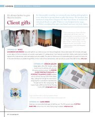 Client Gifts - Professional Photographer Magazine