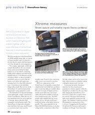 Xtreme measures - Professional Photographer Magazine