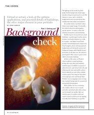 Background - Professional Photographer Magazine