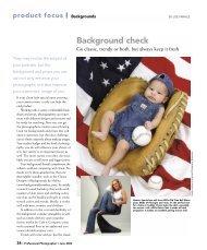 Background check - Professional Photographer Magazine