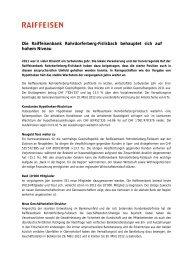 Raiffeisenbank Rohrdorferberg-Fislisbach