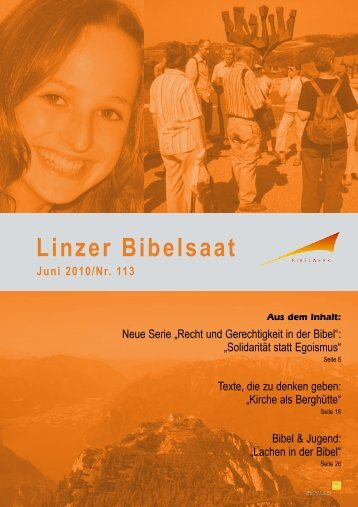 Linzer Bibelsaat - Diözese Linz