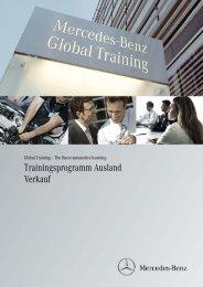 Trainingsprogramm Ausland Verkauf - Daimler