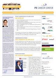 Karriere-News 2 2012 - PR Career Center