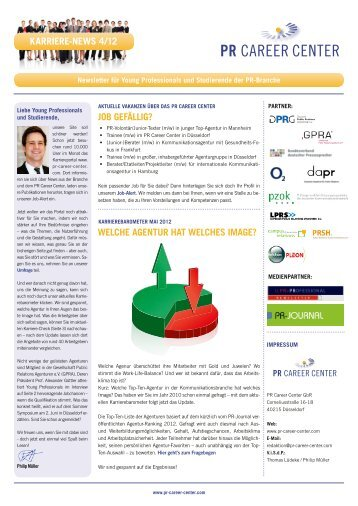 Karriere-News 4 2012 - PR Career Center