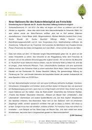 Naturerlebnispfad erweitert 120701tx - pr:event:wilberg
