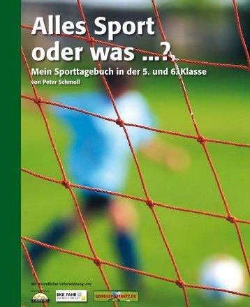 Alles Sport oder was ...? - PR Presseverlag Süd GmbH