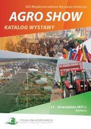 Katalog Wystawy AGRO SHOW 2011 - Polska Izba Gospodarcza ...