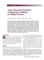 Acute Mesenteric Ischemia - Practical Gastroenterology