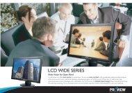 LCD WIDE SERIES - Prad