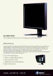 "Der EIZO CG18. 18,1"" (46 cm) Farbmonitor mit Hardware ... - Prad"