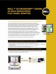 DELL™ ULTRASHARP™ 2009W - Prad