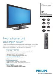 42PFL7782D/12 Philips Flat TV mit Pixel Plus 2 HD - Prad