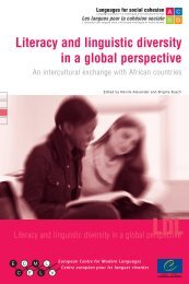 Literacy and linguistic diversity in a global perspective - European ...
