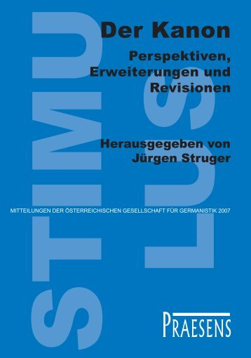 Der Kanon - Praesens Verlag