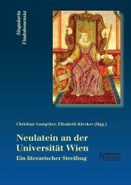Neulatein an der Universität Wien - Praesens Verlag