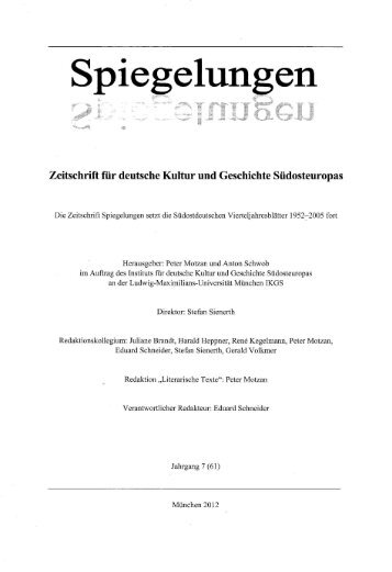 Spieg - Praesens Verlag