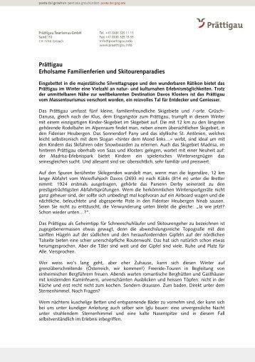 PT Allgemeiner Text Winter 09 1028.November 2009(45 ... - Prättigau