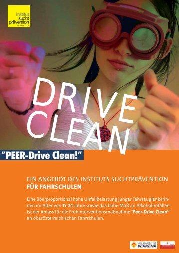 Peer Drive Clean - Institut Suchtprävention
