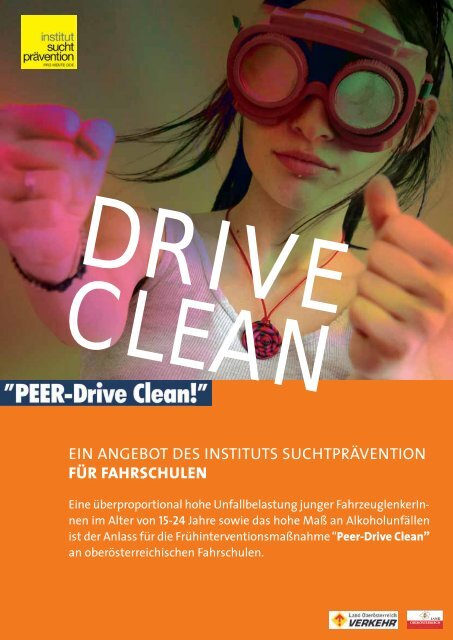 Peer Drive Clean - Institut Suchtprävention
