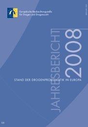 Jahresbericht 2008: Stand der Drogenproblematik in Europa