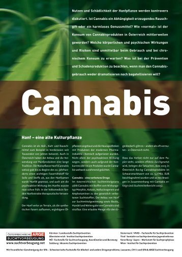Cannabis - Institut Suchtprävention