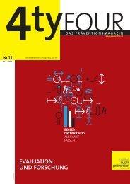 Ausgabe 13 [772 kB] - Institut Suchtprävention