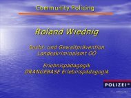 Workshop Community Policing [742 kB]