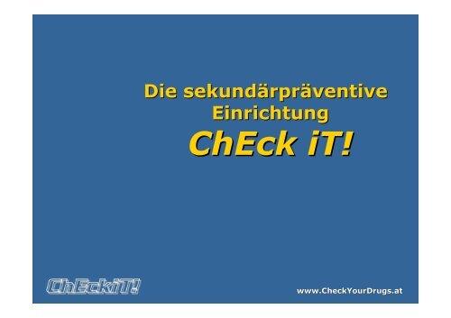 Workshop Check iT