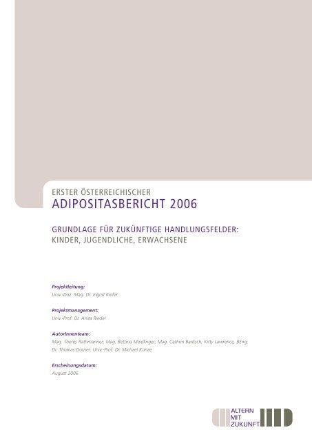 Adipositasbericht2006