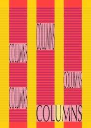 Columns manual - Pragma ADE