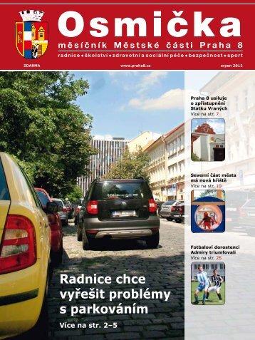 Srpen 2012 - Praha 8