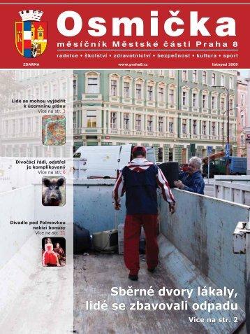 Listopad 2009 - Praha 8