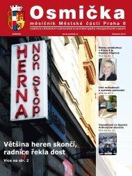 Listopad 2012 - Praha 8