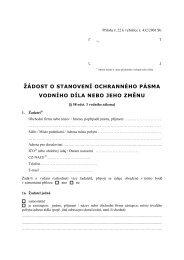 Vodoprávní úřad - Praha 8
