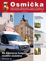Na Palmovce funguje mobilní služebna - Praha 8